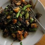 Warm Wild Rice Salad Recipe