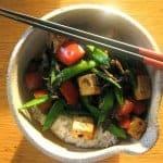 Hoisin Tofu and Sugar Snap Peas Recipe