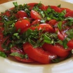 A Simple Tomato Basil Salad Recipe