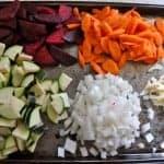 Sautéed Vegetables with Polenta Recipe