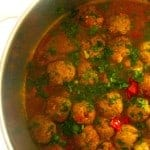Spicy Moroccan Meatball Tagine Recipe