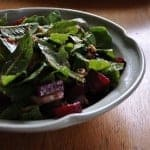 Prairie Garden Salad with Roasted Beets