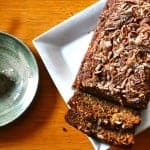 Nutty Apple Bread Recipe with Hazelnuts