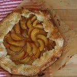 Almond-Peach Galette