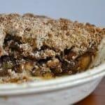 Sweet Molasses Apple Pie aka Ugly Pie
