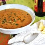 Karahi Red Lentil Soup Recipe