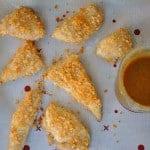 Potato Chip Chicken Strips & Honey Mustard Sauce