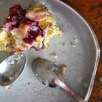 Raspberry and Goat Cheese Bread Pudding