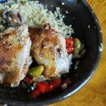 Braised Chicken Puttanesca