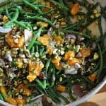 Warm Green Bean Salad with Tangerines