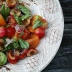 Sweet Cherry and Tomato Salad