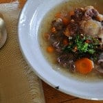 Oxtail Soup with Cilantro Chimichurri