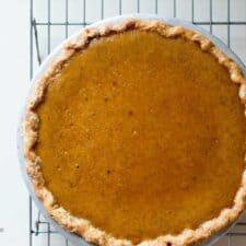 Mom's Classic Pumpkin Pie Recipe