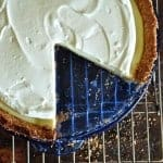 Key Lime Pie with Sour Cream Topping