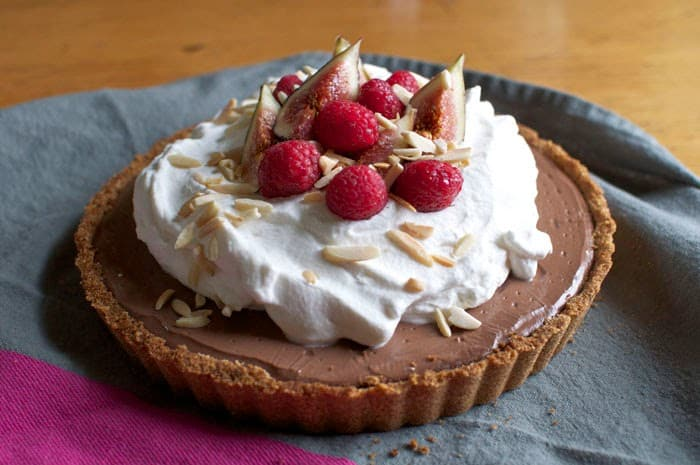 Mexican chocolate tart