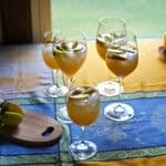 Apple Cider-Pisco Sparklers