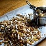 Mango Cashew Coconut Granola