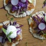 Leftover Turkey Tinga Sopes