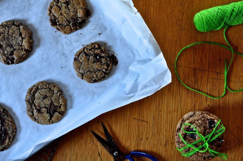 Mega Mexican Chocolate Chip Cookies