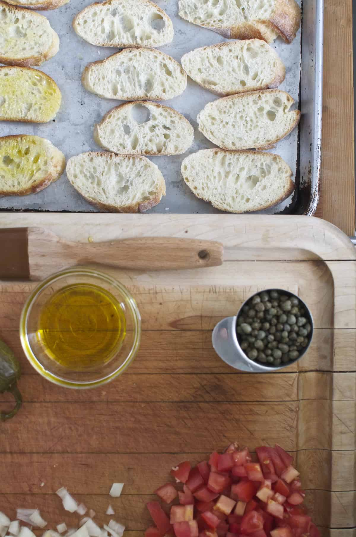 Salt Cod and Baguette
