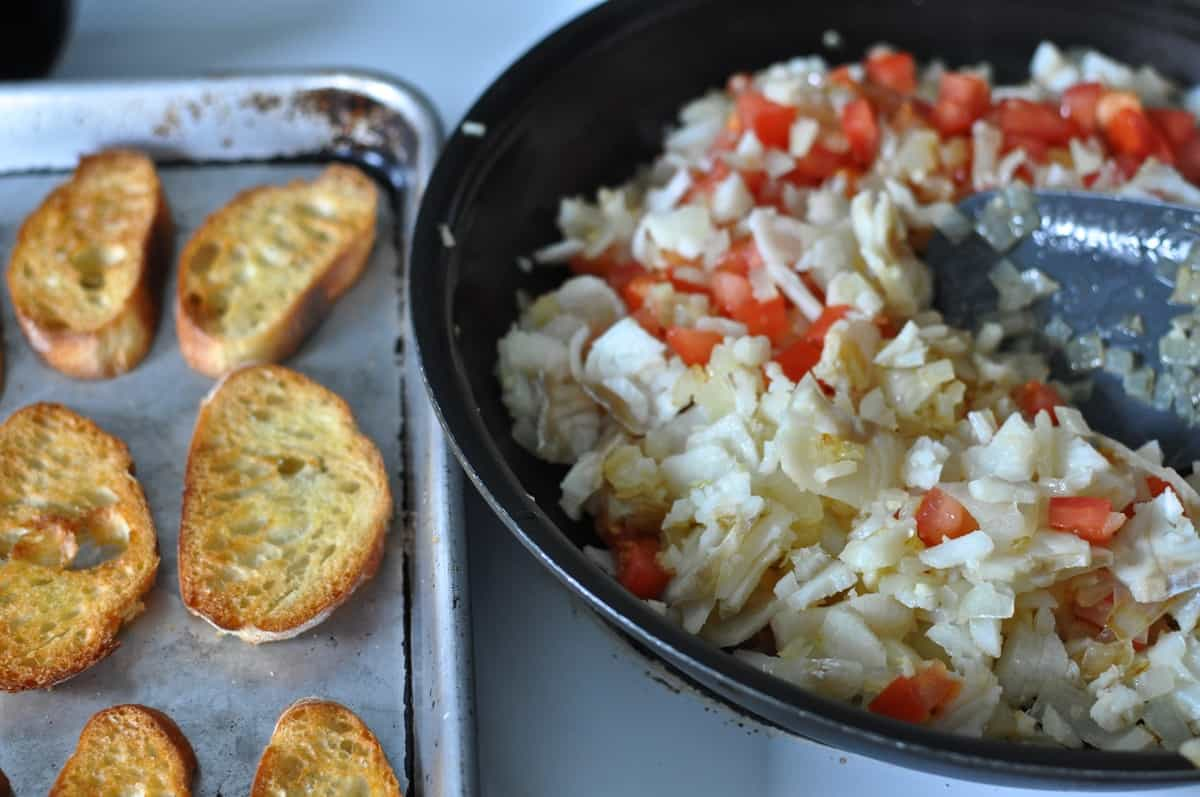 Salt Cod with Tomatoes