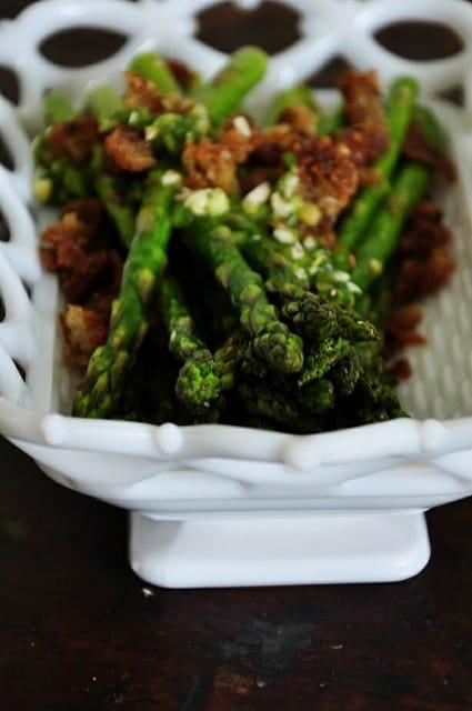 Asparagus with Sweet Jalapeño Vinaigrette