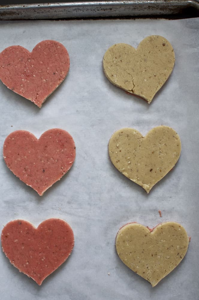 Almond Sugar Hearts {A Valentines Day