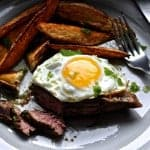 Churrasco Ecuatoriano {Ecuadorian Steak and Eggs}