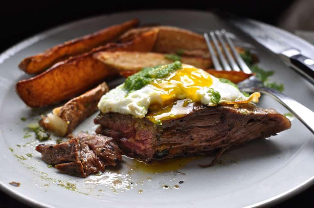 Churrasco {Ecuadorian Steak and Eggs}