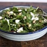 Kale Salad with Roasted Peanuts and Queso Fresco