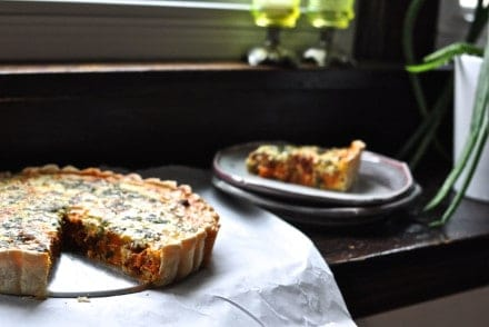Sweet Potato and Chorizo Quiche Recipe