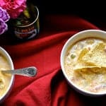 The Best Mexican Potato Soup with Melty Cheese