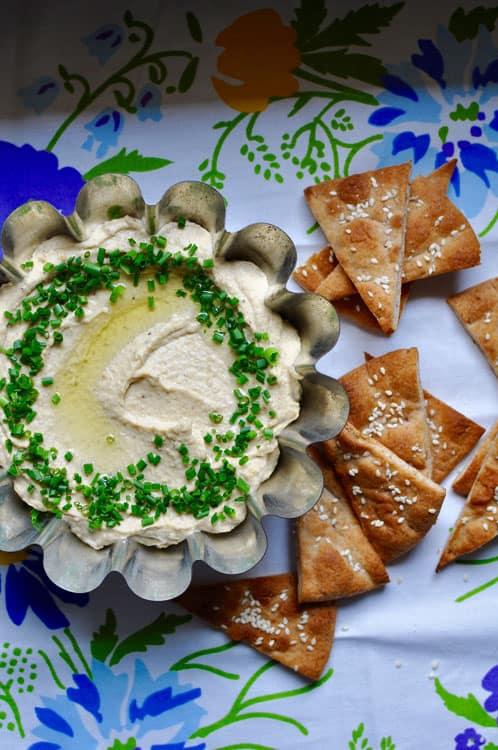 Jerk Hummus + Pita