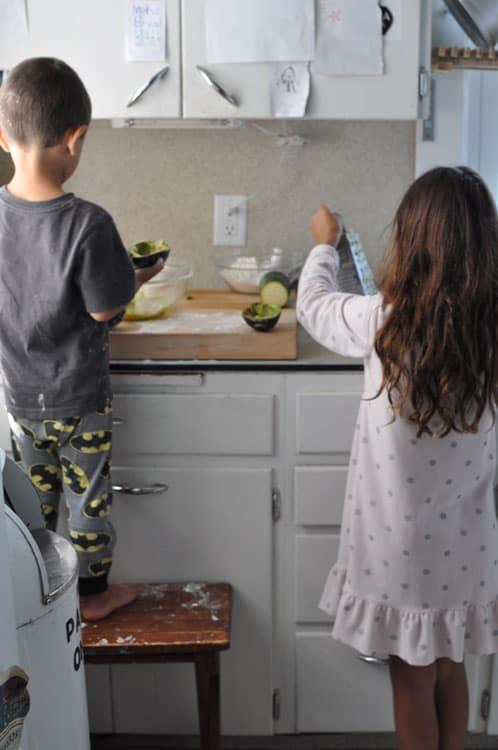 kids prepping