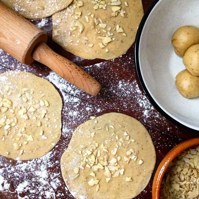 Almond Buñuelos