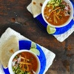 Leftover Turkey Tortilla Soup