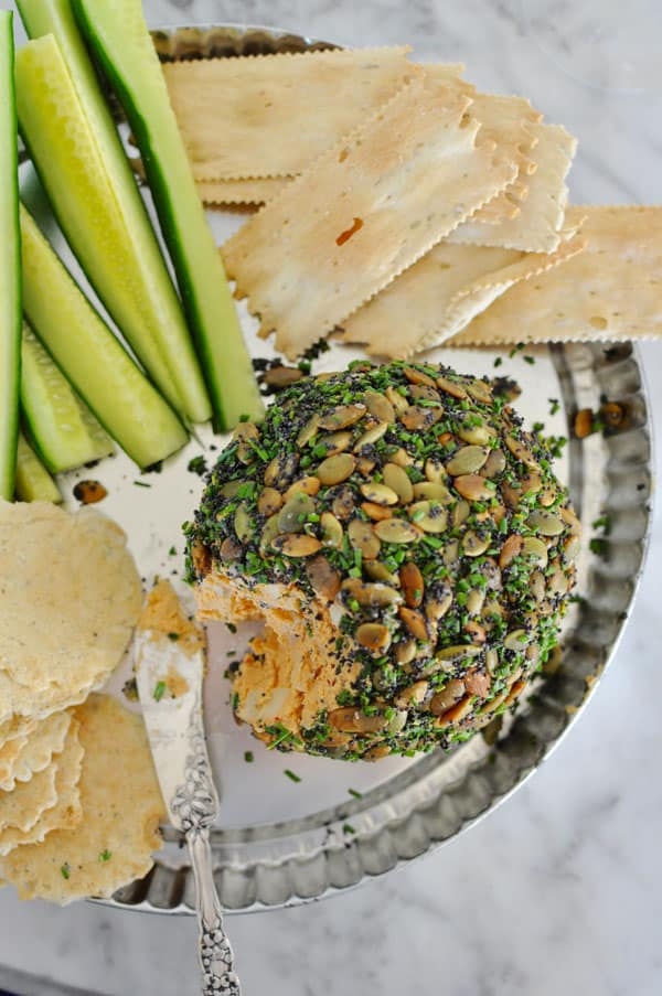 Manchego Cream Cheese Ball