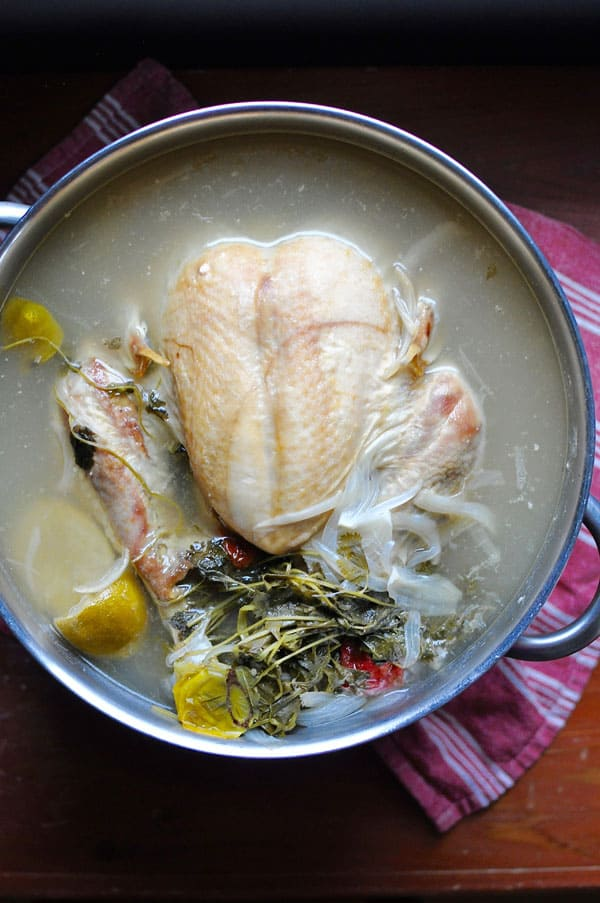Mexican Lime-Poached Turkey
