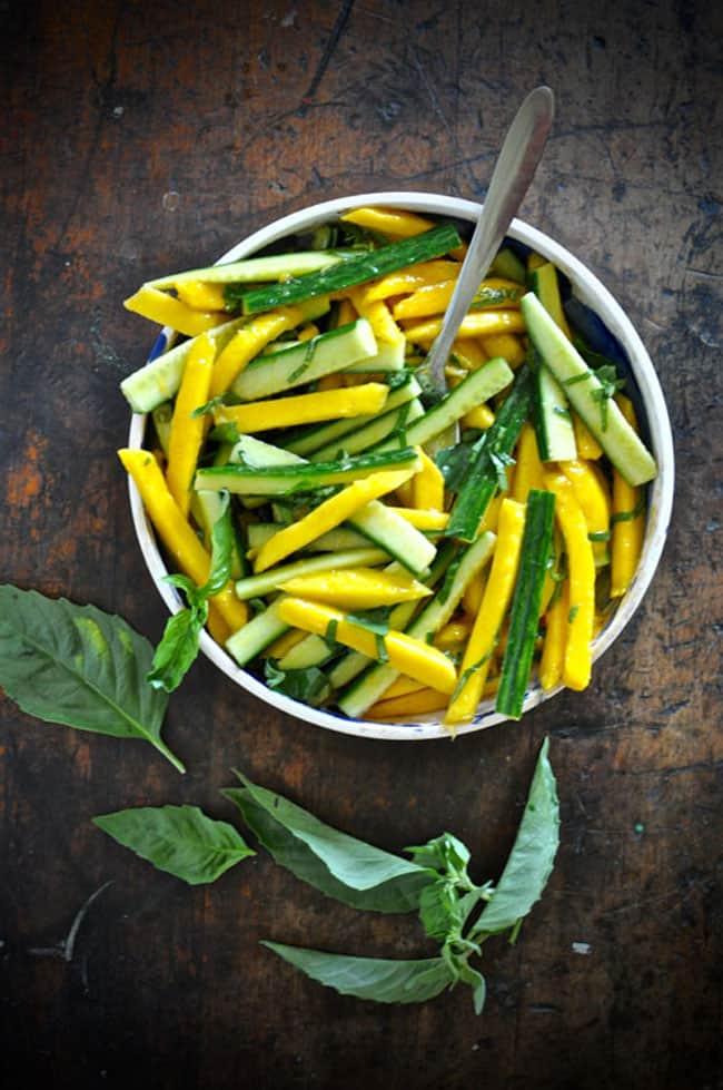 mango cucumber salad recipe