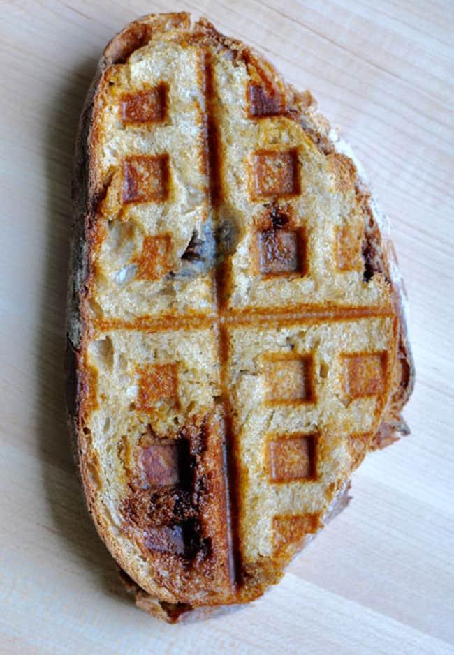 mexican hot chocolate waffle iron sandwich recipe