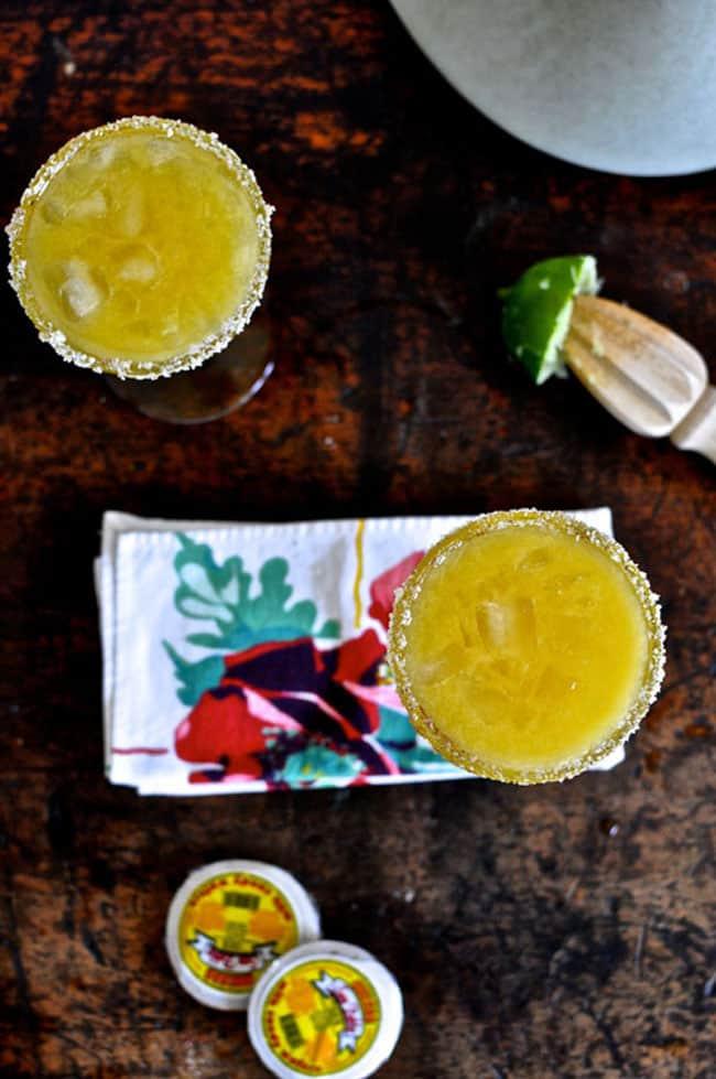 spicy mango margaritas recipe