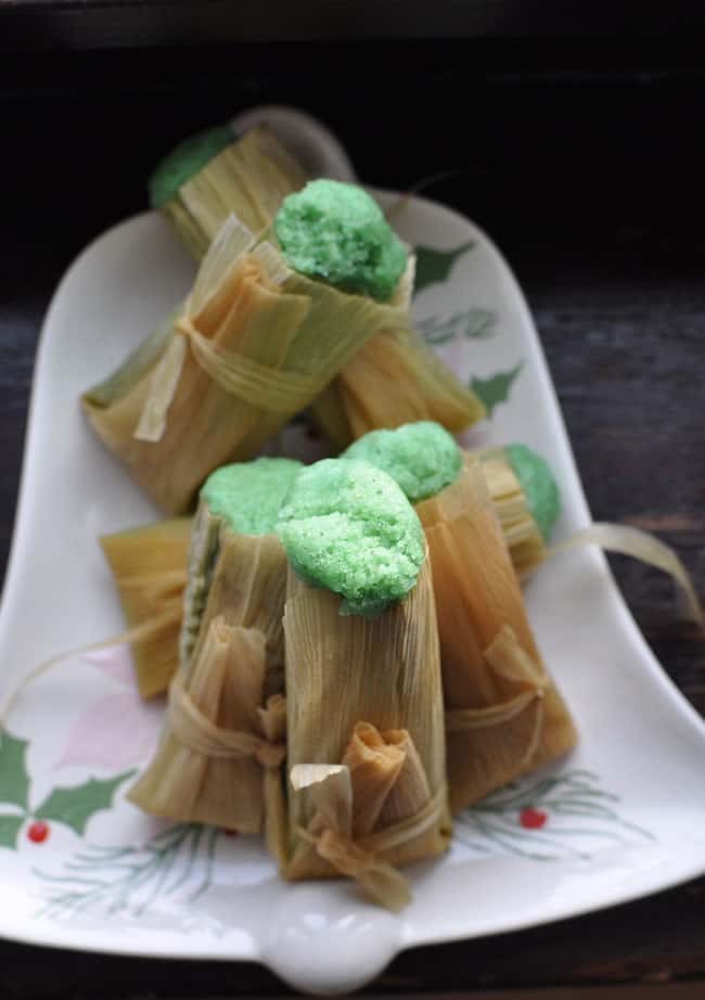 Sweet Lime Tamales