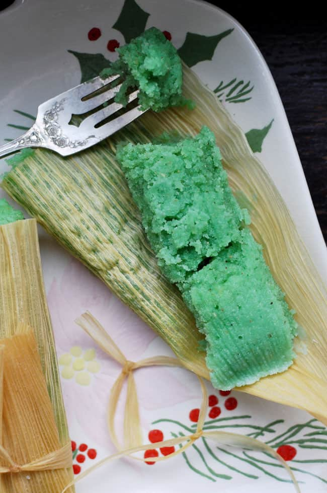 Sweet Lime Tamales Recipe