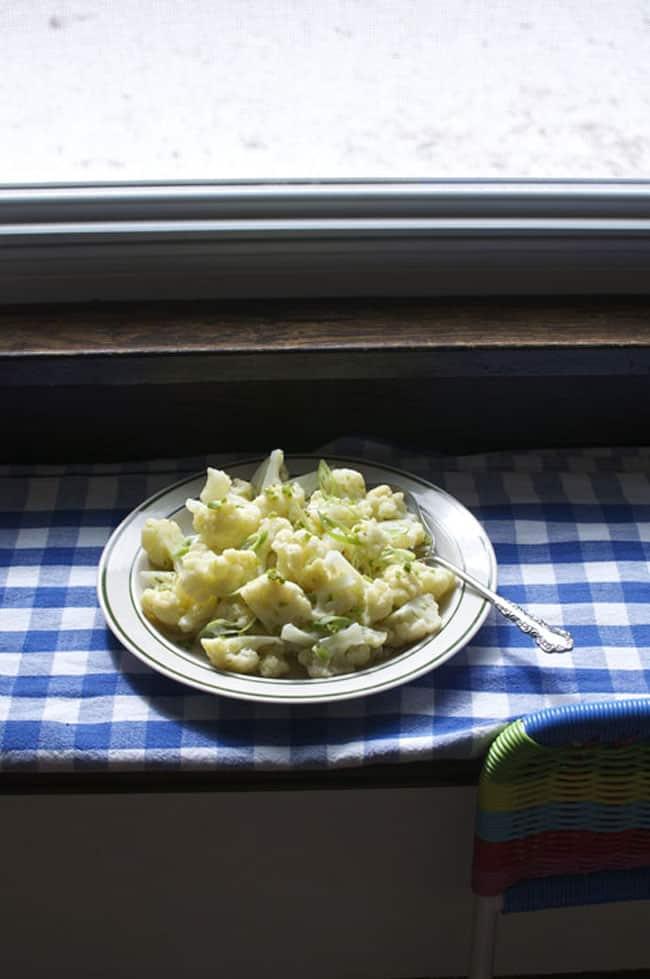 cauliflower salad recipe