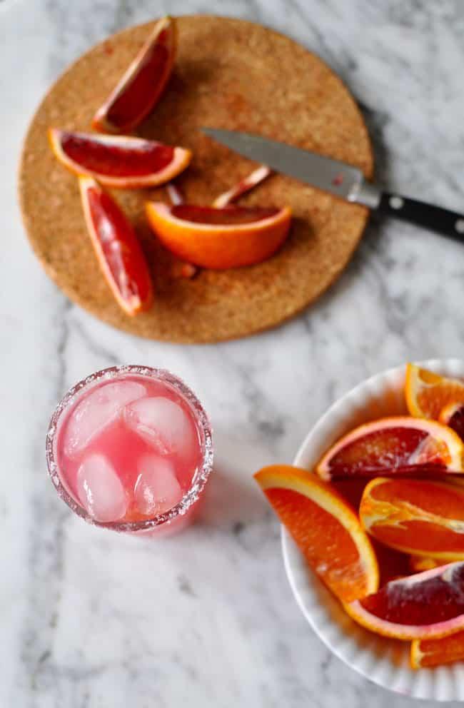 Blood Orange Salty Dog Recipe