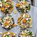 Cauliflower Ceviche Tostada Recipe