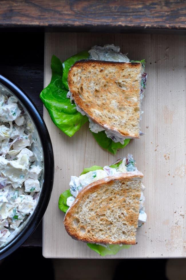 Serrano Artichoke Chicken Salad Recipe