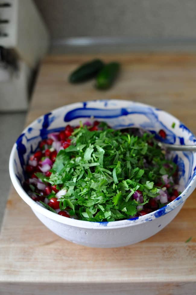 Pomegranate Salsa Recipe