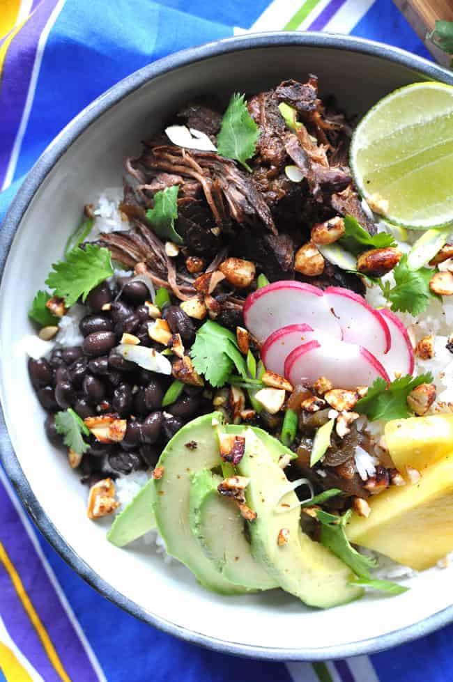 Slow Cooker Carne Adobada Recipe