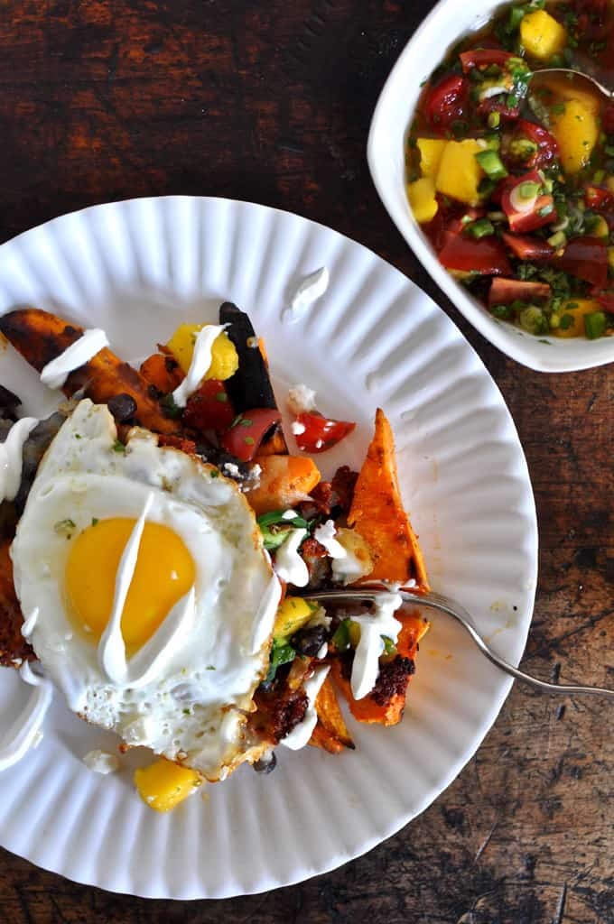 Loaded Sweet Potato Nachos Recipe